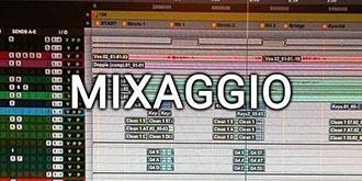 mixaggio audio pro tools