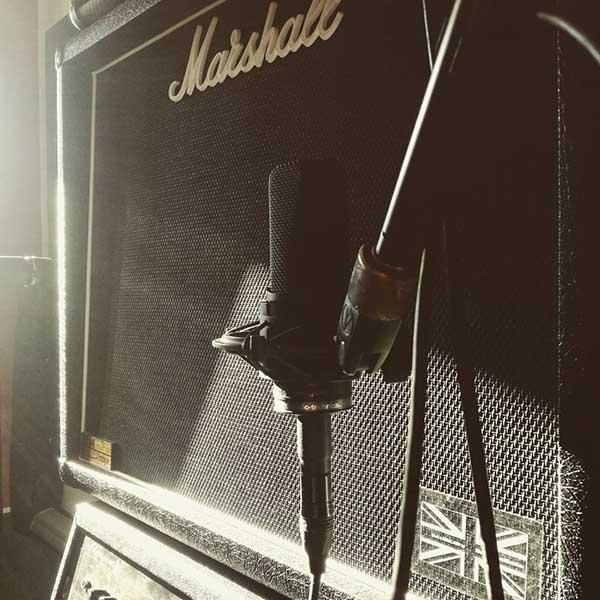 registrazione strumenti amplificatori chitarra voci